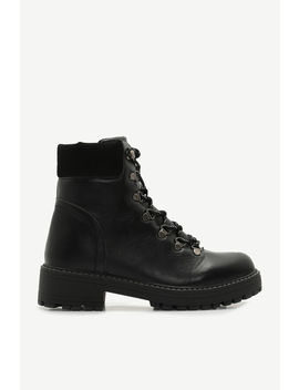 Track Sole Hiker Boots by Ardene