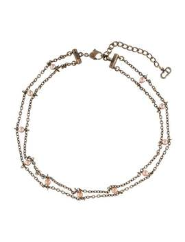faux-pearl-choker-necklace by christian-dior
