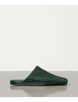 Slippers In Intrecciato Nappa by Bottega Veneta