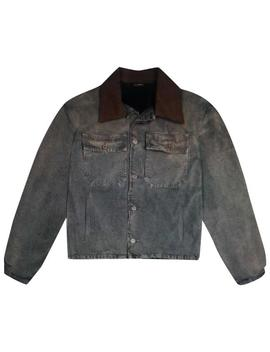 yeezy-blue_green-flannel-lined-canvas-jacket by yeezy