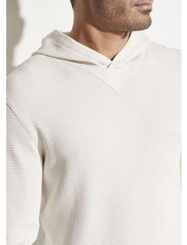 Thermal Pullover Hoodie by Vince