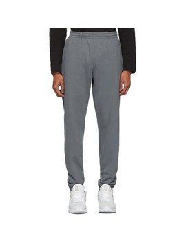 grey-french-terry-lounge-pants by nanamica