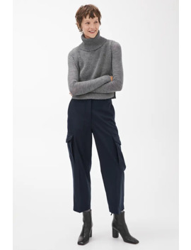 Wool Cashmere Cargo Trousers by Arket