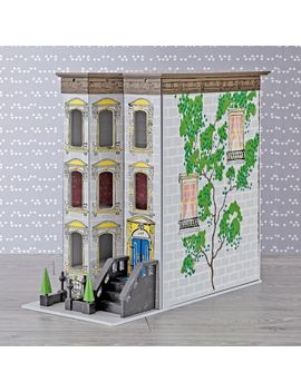 brownstone-dollhouse by crate&barrel