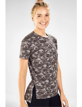 Amy S/S Crew Neck Tee by Fabletics