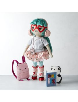 charlie-friend-indeed-soft-doll by crate&barrel