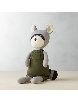 max-raccoon-doll by crate&barrel