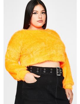vivid-total-daring-diva-crop-sweater by dolls-kill