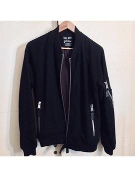 kill-city-wool-bomber-jacket by kill-city