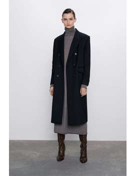 vestido-lana-merino by zara
