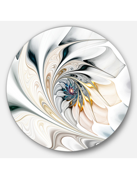designart-white-stained-glass-floral-art-large-floral-metal-circle-wall-art by designart