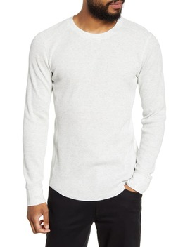 slim-fit-waffle-knit-long-sleeve-t-shirt by vince