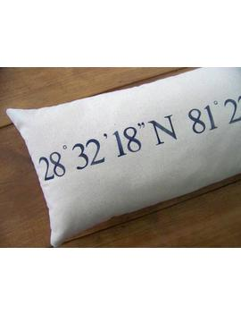 free-shipping--coordinates-pillow--personalized-gift---navy-blue---custom---gift-idea---wedding-gift---personalized-pillow-_-_gps by etsy