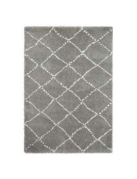 grey-royal-nomadic-rug by dunelm