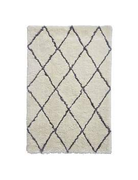ivory-and-grey-morocco-2491-rug by dunelm