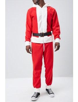 santa-design-fleece-one-piece by forever-21