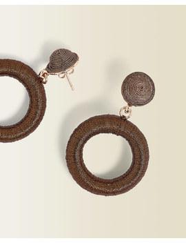 circle-drop-wrap-earrings by jigsaw