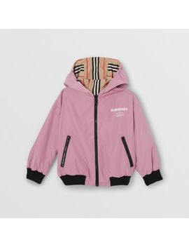 reversible-icon-stripe-hooded-jacket by burberry