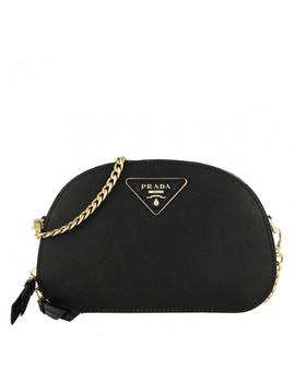 odette-saffiano-belt-bag-nero by prada