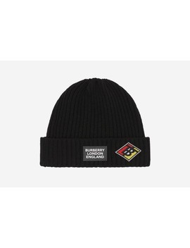 Graphic Beanie by Burberry