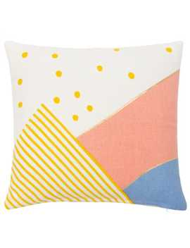 cotton-cushion-cover-with-graphic-print-40x40----rooftop by maisons-du-monde