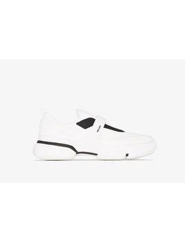 Cloudbust Strap Detail Sneakers by Prada