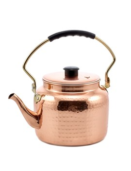hammered-copper-stainless-steel-2-quart-tea-kettle by old-dutch