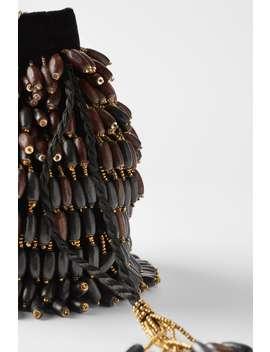 wooden-bead-bucket-bag by zara