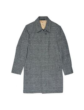 Charcoal Large Check Car Coat by Burton