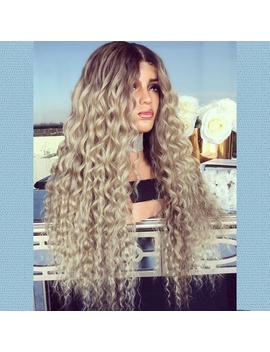 26-inches-fashion-long-wavy-curly-wig-blonde-natural-full-wig-(-color:-blond-) by wish