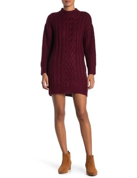 cable-knit-sweater-dress by jolt