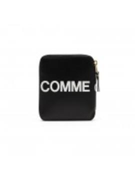 cdg-huge-logo-wallet-(black-sa2100hl) by dover-street-market