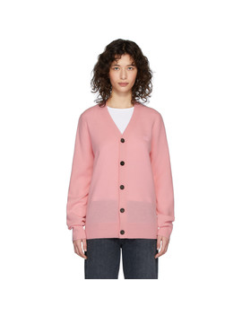 pink-keve-cardigan by acne-studios