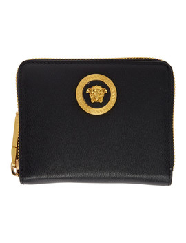 black-medusa-zip-wallet by versace