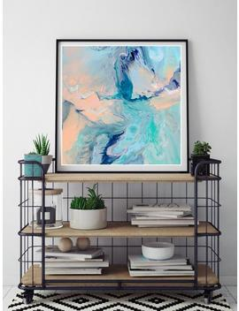 abstract-painting-marble-resin-art-fluid-art-giclee-print-aqua-purple-peach-pink-blue-turquoise-pastel-hipster-style-boho-art-print-wall-art by etsy