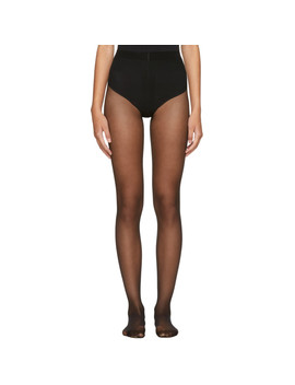 black-individual-10-back-seam-tights by wolford
