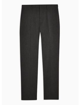 Charcoal Grey Slim Fit Suit Trousers by Topman