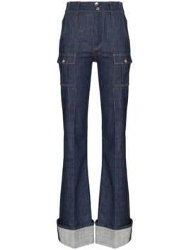 ausgestellte-jeans by chloé