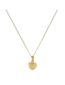 revere-9ct-gold-heart-pendant-16-inch-necklace734_6657 by argos