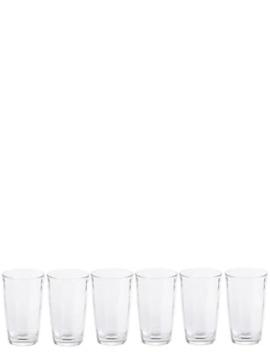 set-of-6-striped-hi-ball-glasses by marks-&-spencer