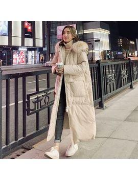 ariadne---furry-trim-hooded-padded-coat by ariadne