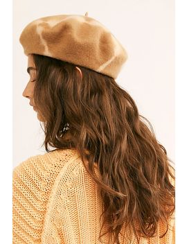 static-tie-dye-beret by free-people