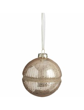 wilko-luxe-sparkle-pearly-glass-bauble-with-glitter-christmas-tree-decorationwilko-luxe-sparkle-pearly-glass-bauble-with-glitter-christmas-tree-decoration by wilko