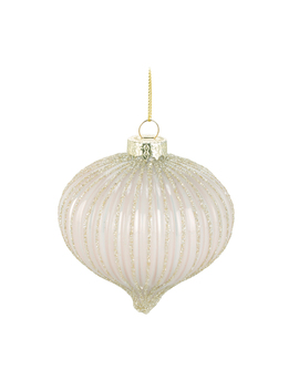 blush-gold-glitter-bauble by the-range