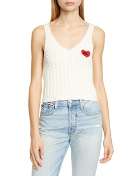 heart-detail-cotton-cable-tank by polo-ralph-lauren