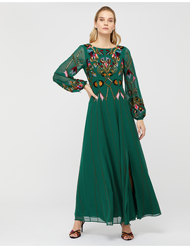 florence-embroidered-maxi-dress by monsoon