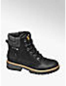black-lace-up-ankle-boots by bench