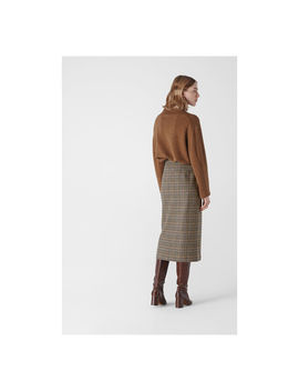 Houndstooth Pencil Skirt by Whistles