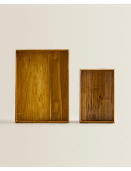 decorative-teak-tray by zara-home