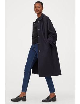 vlněný-kabát by h&m